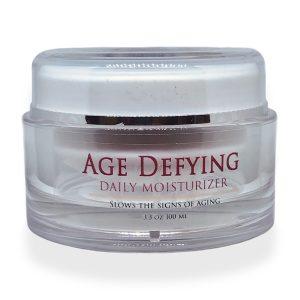 age defying skin care, age defying moisturizer