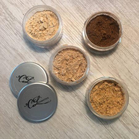 Calla Lily Cosmetics, translucent mineral powder