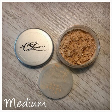 CL cosmetics, Calla Lily Cosmetics, translucent mineral powder