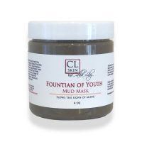 fountain of youth mud mask, age defying skin care