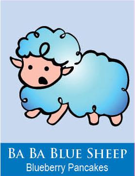 blue sheep bath paints