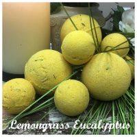 Lemongrass & Eucalyptus Bath Bomb