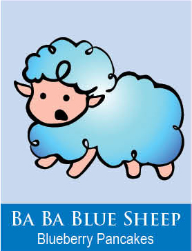 blue sheep body icing