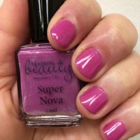 Nail Polish, bright fushia