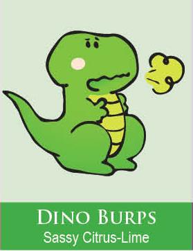 Dino Burps Body Icing