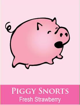 piggy snorts body icing
