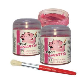 Piggy Snorts Icing sugar scrub