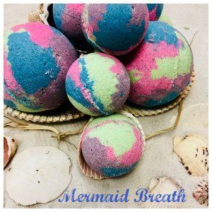 Mermaid Breath Bath Bomb