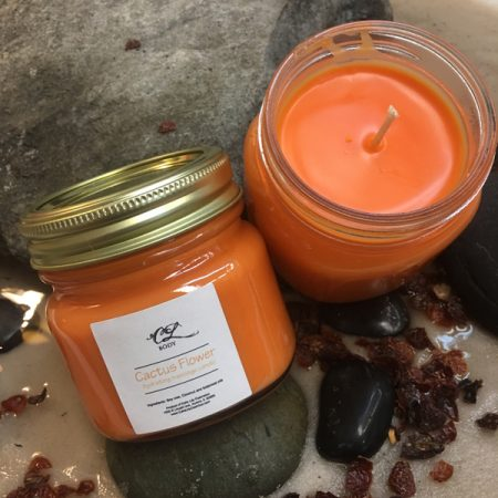 Cactus Flower Soy Candle