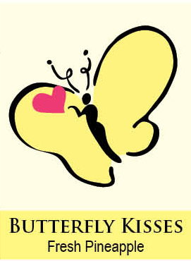 butterfly kisses body icing