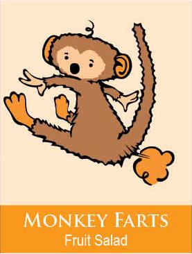 monkey farts body icing