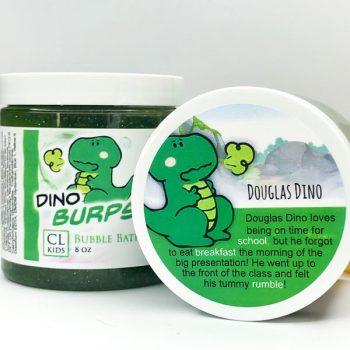 dino burbs bubble bath