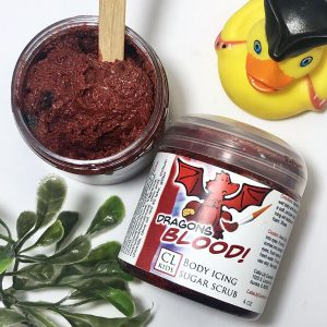 dragons blood body icing