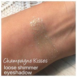 Champagne Kisses Mineral Glitter Eye shadow