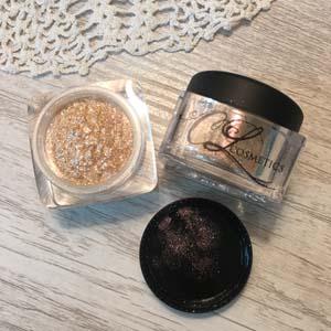 petals mineral glitter eyeshadow