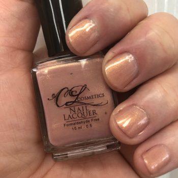 Nail Polish, Light golden pink