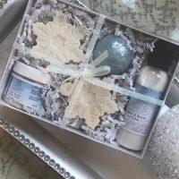 snow globe gift set