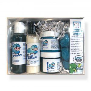 blue sheep gift box