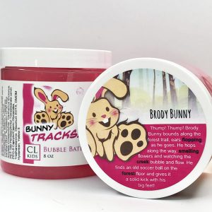 bunny tracks bubble bath