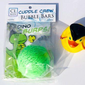 dino burps bubble bar