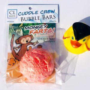 monkey farts bubble bar