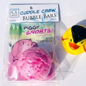 piggy snorts bubble bar