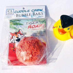 tiger roar bubble bar