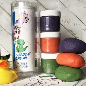 secondary color bubble dough