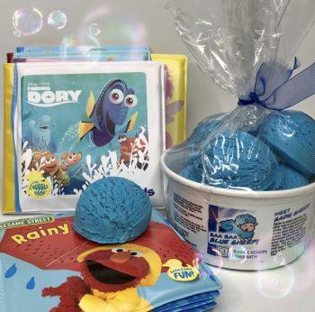 blue sheep bubble sundae
