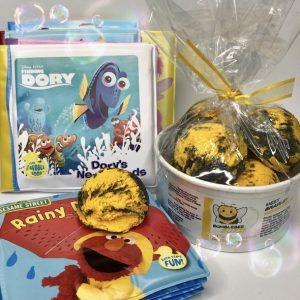 bumblebee buzz bubble sundae