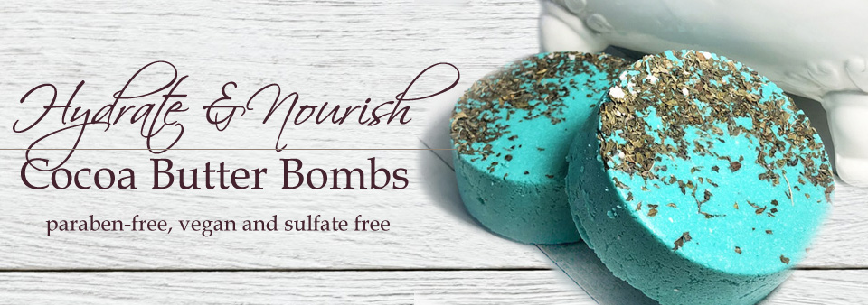 Cocoa Butter Bath Bombs