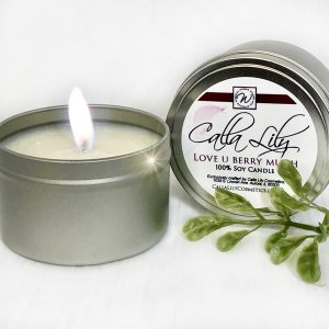 I Love You Berry Much Candle