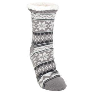 Nordic snow slipper socks