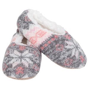 nordic snow non slip slippers